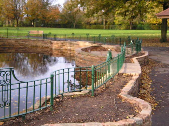 Edwardian Style Railings For Community Garden Hickman Park