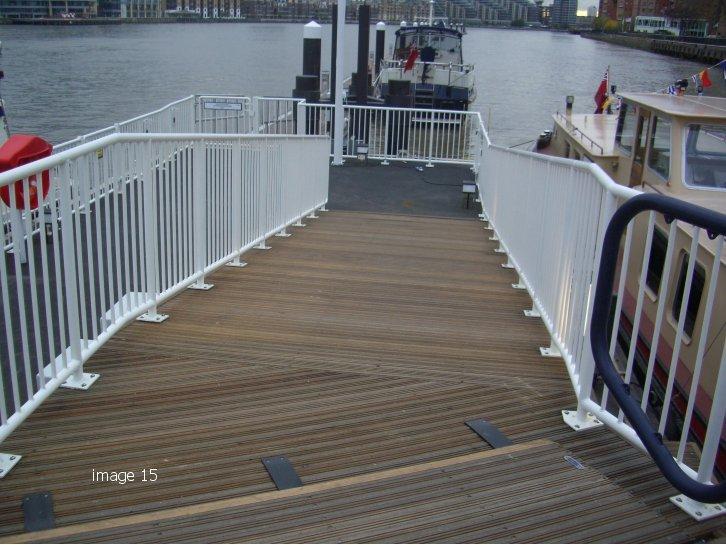 steel balustrade