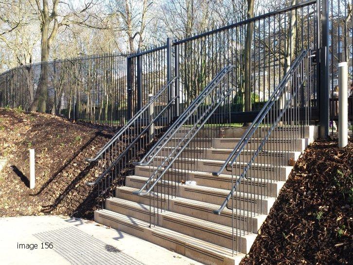 Bespoke Vertical Railings and Gate