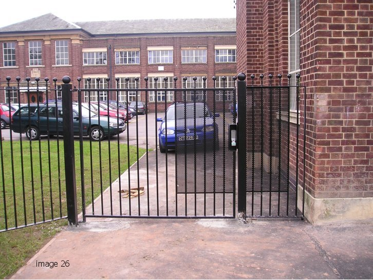 Humber style vertical bar gate