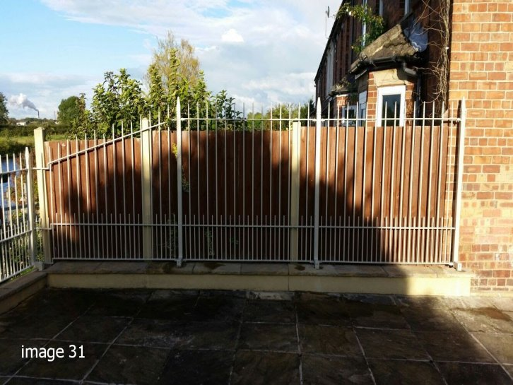 mild steel galvanized and powder coated decorative albany railings