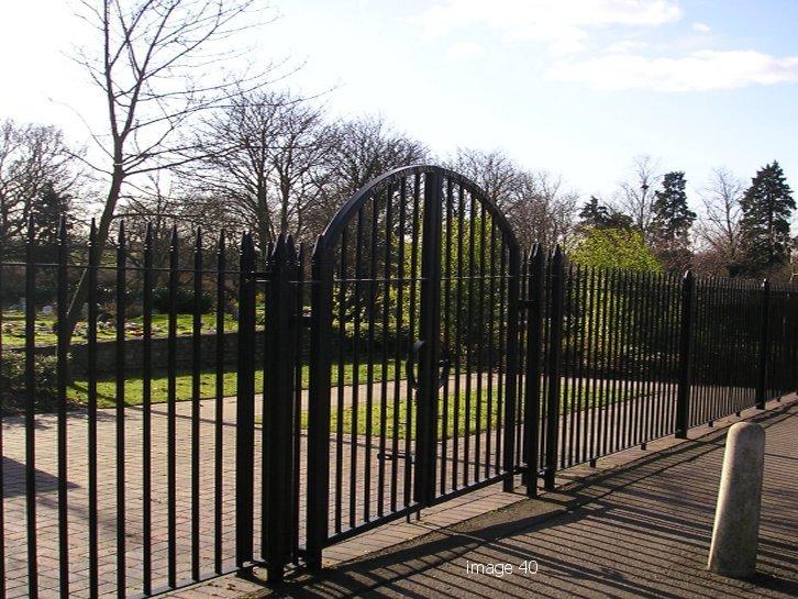 Bespoke Westminster style gates