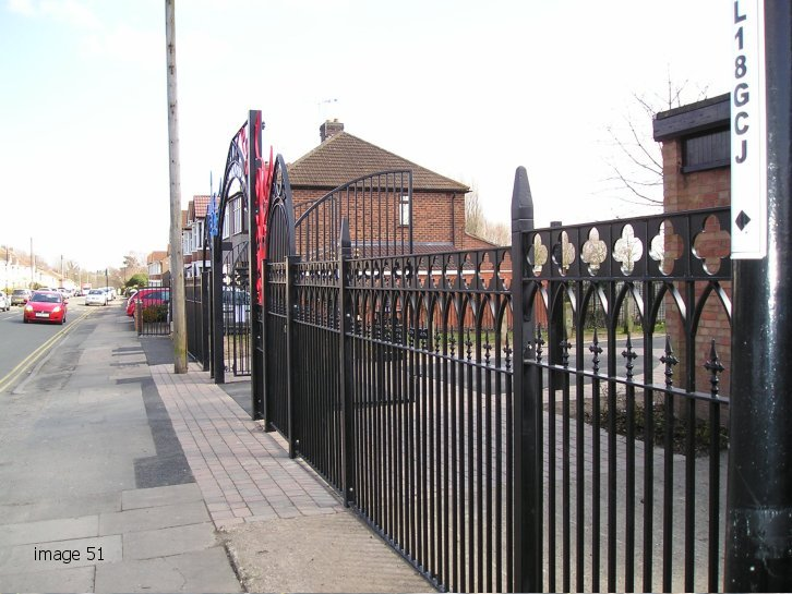 mild steel galvanized and powder coated decorative railings