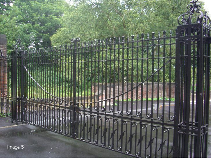 Refurbishment of existing gate
