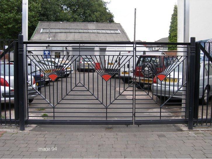 Bespoke decorative railings
