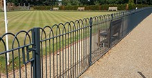 interlaced Bow Top Fencing