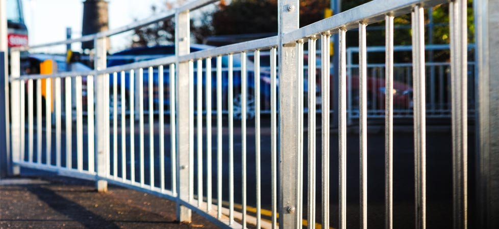 High Quality Metal Railings And Pedestrian Guardrail