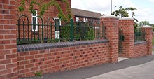 Ravenshead Bow Top Fencing