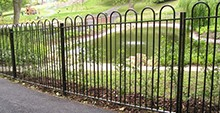 Southwell Bow Top Railings