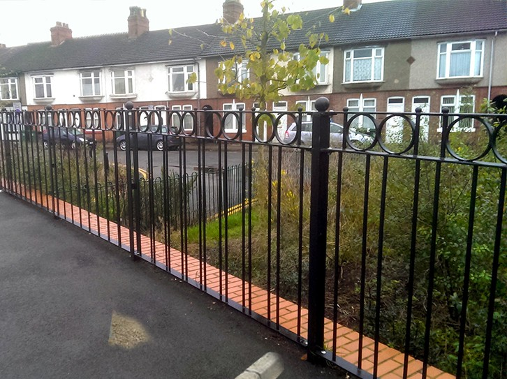 Bespoke pedestrian guardrail