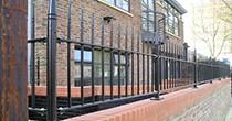 Albany metal railings
