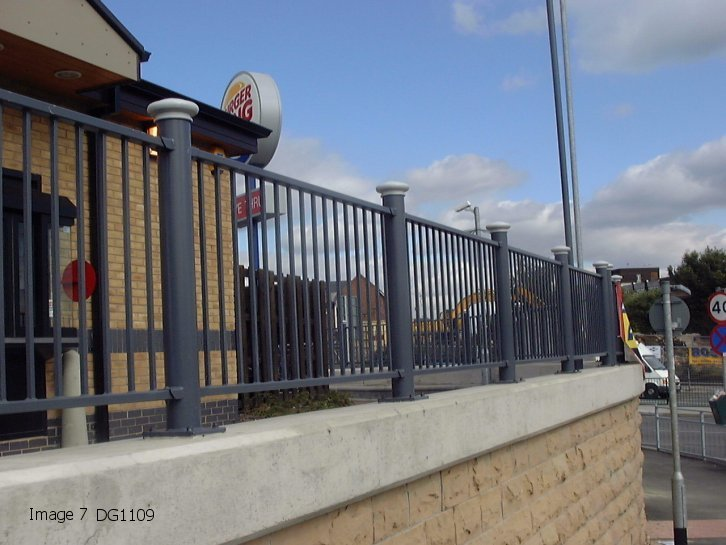 Decorative Pedestrian Guardrail