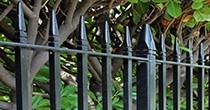 Westminster metal railings