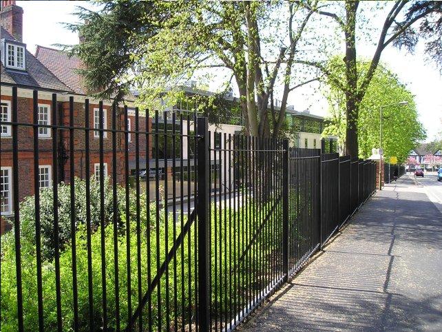 Metal Railings And Gates Ibstock Place School London