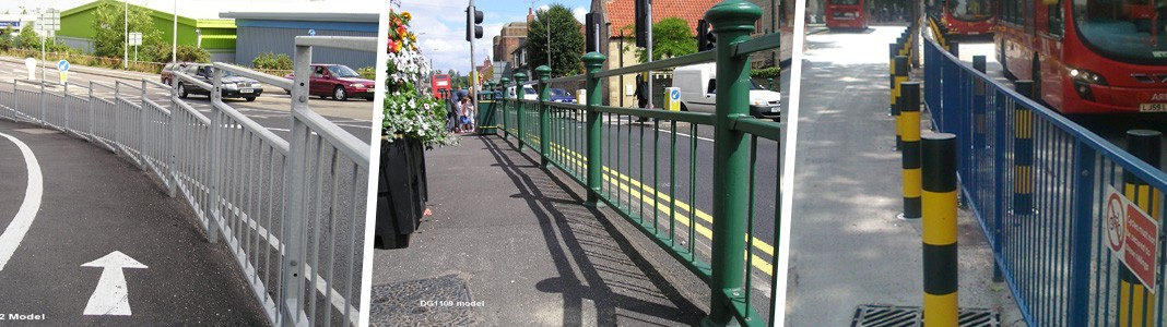 Standard and Decorative Pedestrian Guardrail to BS 7818
