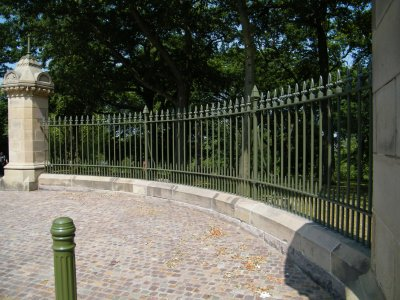 many options are available for installation of railings and gates including concrete foundations, wall mounted and fixed to brick piers.
