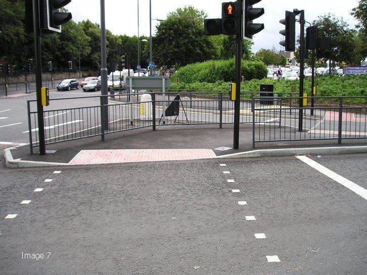 SM2 Pedestrian Guardrail