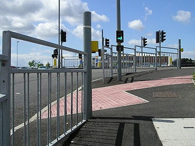 Highway and transport railings