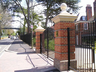 Ibstock place school railings and gates