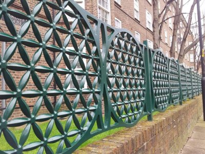 decorative cast aluminium railing panels
