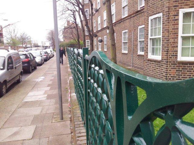 decorative cast aluminium railing panels