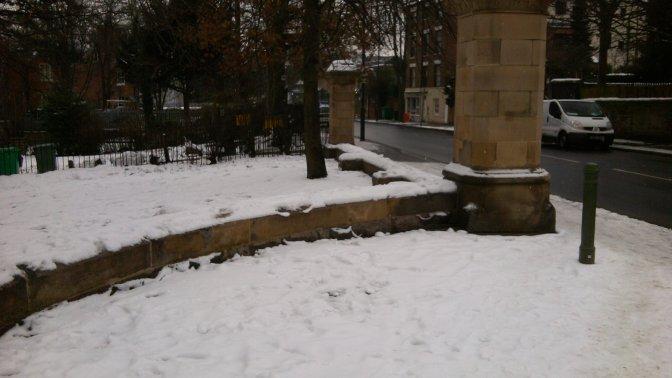 removal of war railings