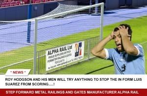 Alpha Rail Sports Pitch Perimeter Fencing