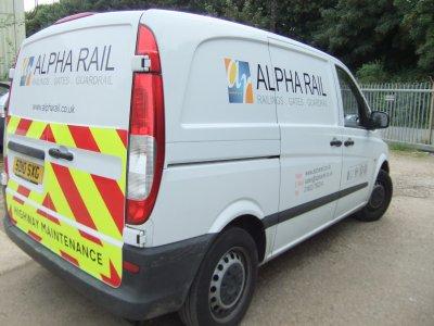 Alpha Rail van