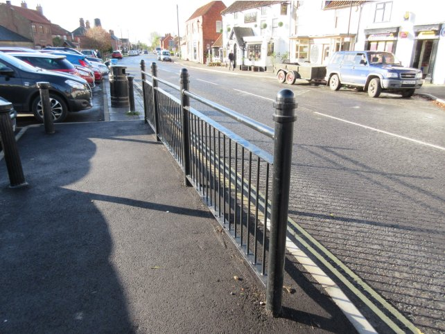 DG1112 Pedestrian Guardrail