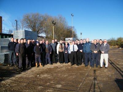 Alpha Rail Employees in 2014