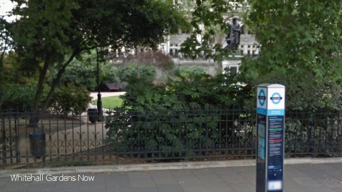 whitehall gardens - now text