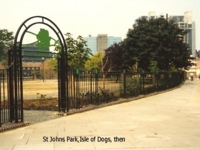 St Johns Park, Isle of Dogs