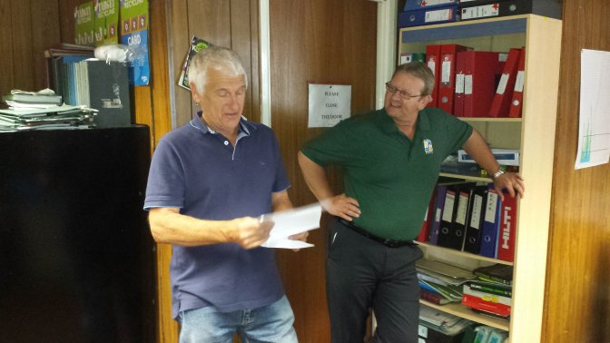 Delivery driver retires after 30 years