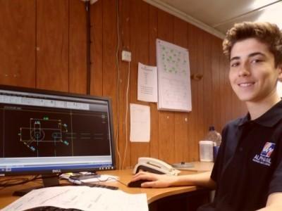 Ryan Spencer - apprentice technician