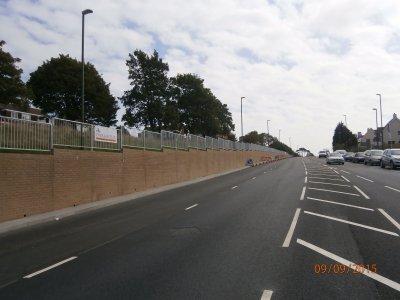 galvanized mild steel pedestrian guardrail