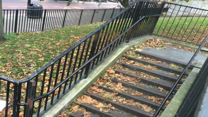 mild steel galvanized and powder coated handrails