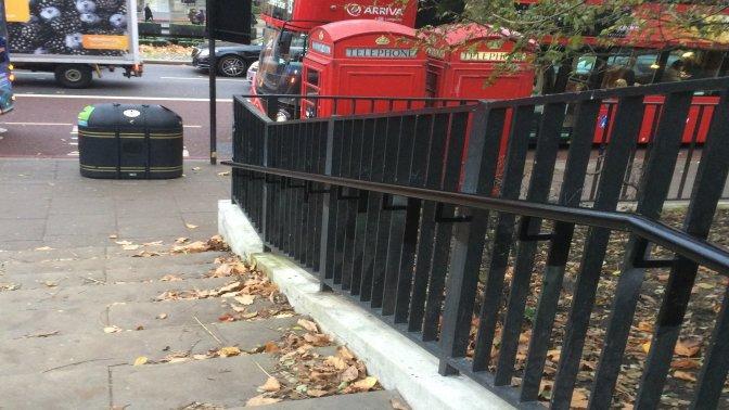 mild steel galvanized and powder coated handrail