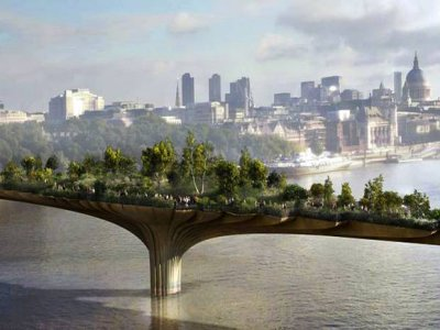Garden Bridge over the Thames