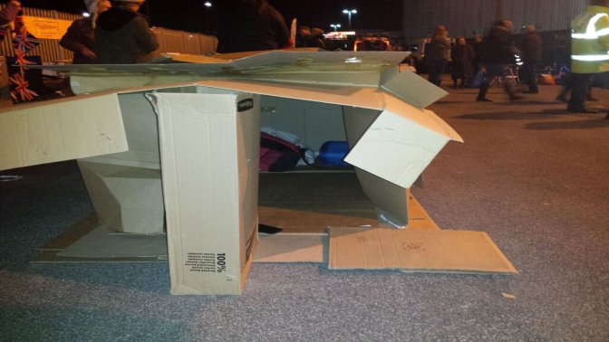 Sleep out helps framework