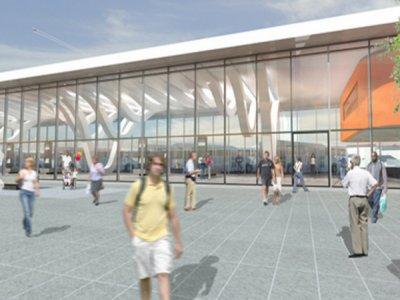 construction of Blackburn Bus Station