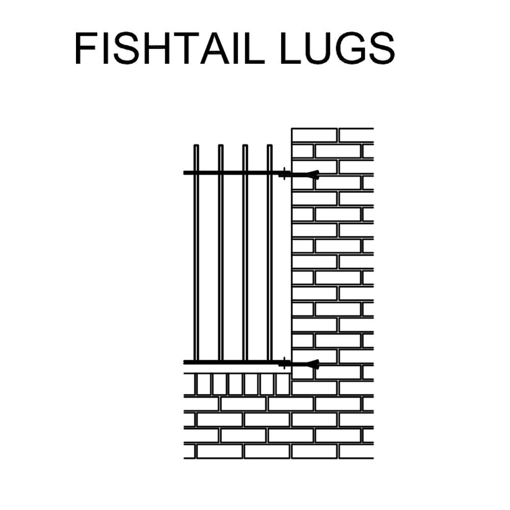 FISHTAIL LUGS
