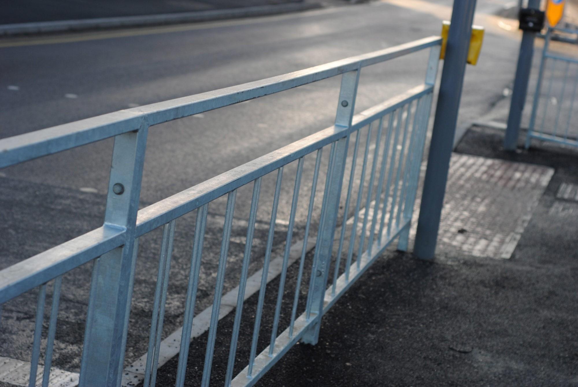 Pedestrian Guardrail | Vision Gap Guardrail | Always in stock
