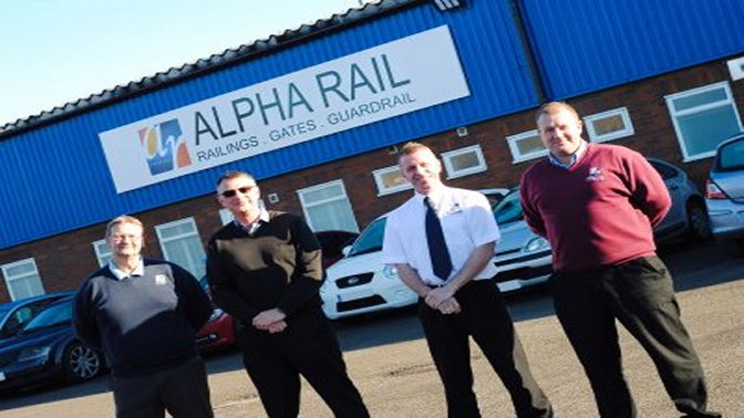 metal railings manufacturer moves to new factory