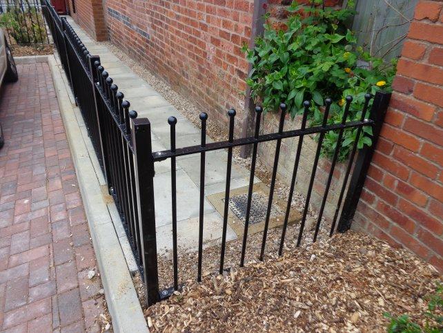 decorative vertical bar railings mild steel galvanized powder coated