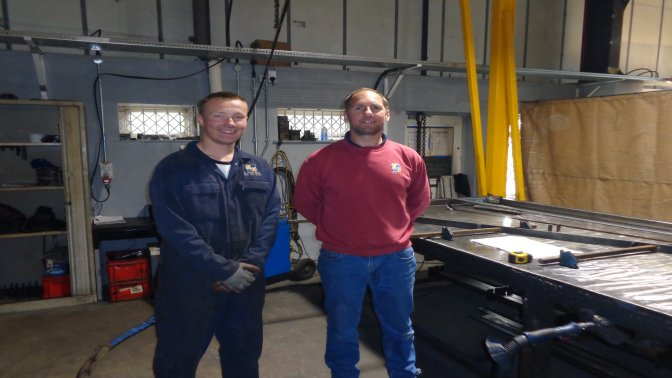 metalwork apprentice joins Alpha Rail