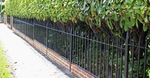 Metal railings for residential projects