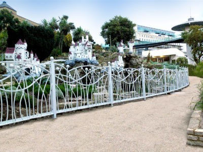 Bespoke metal railings at The Shrubbery, Southend-on-Sea