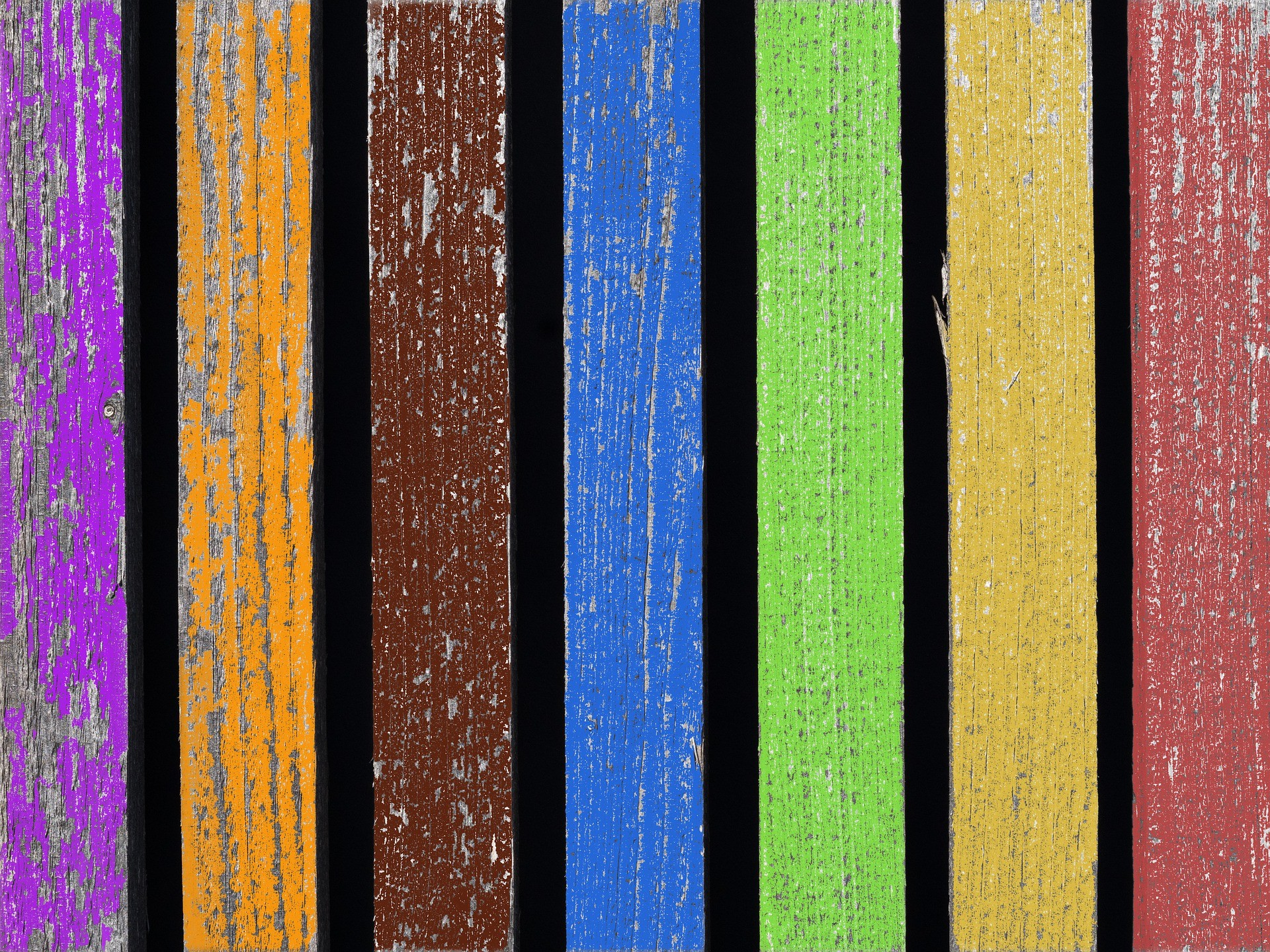 metal railings v wooden fencing