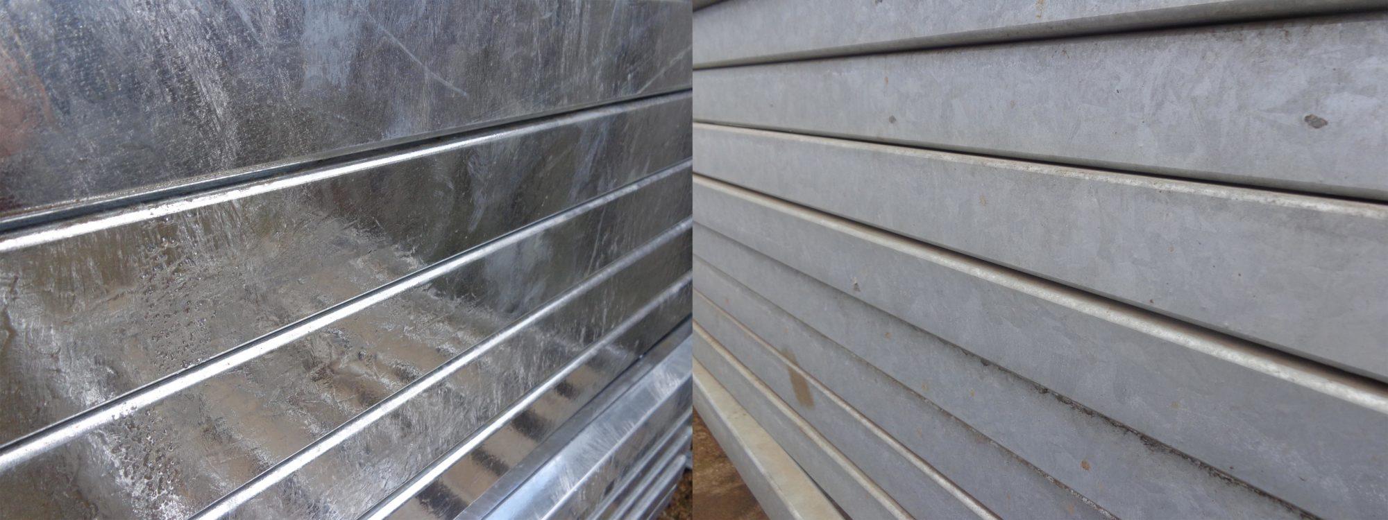 Zinc patina forming