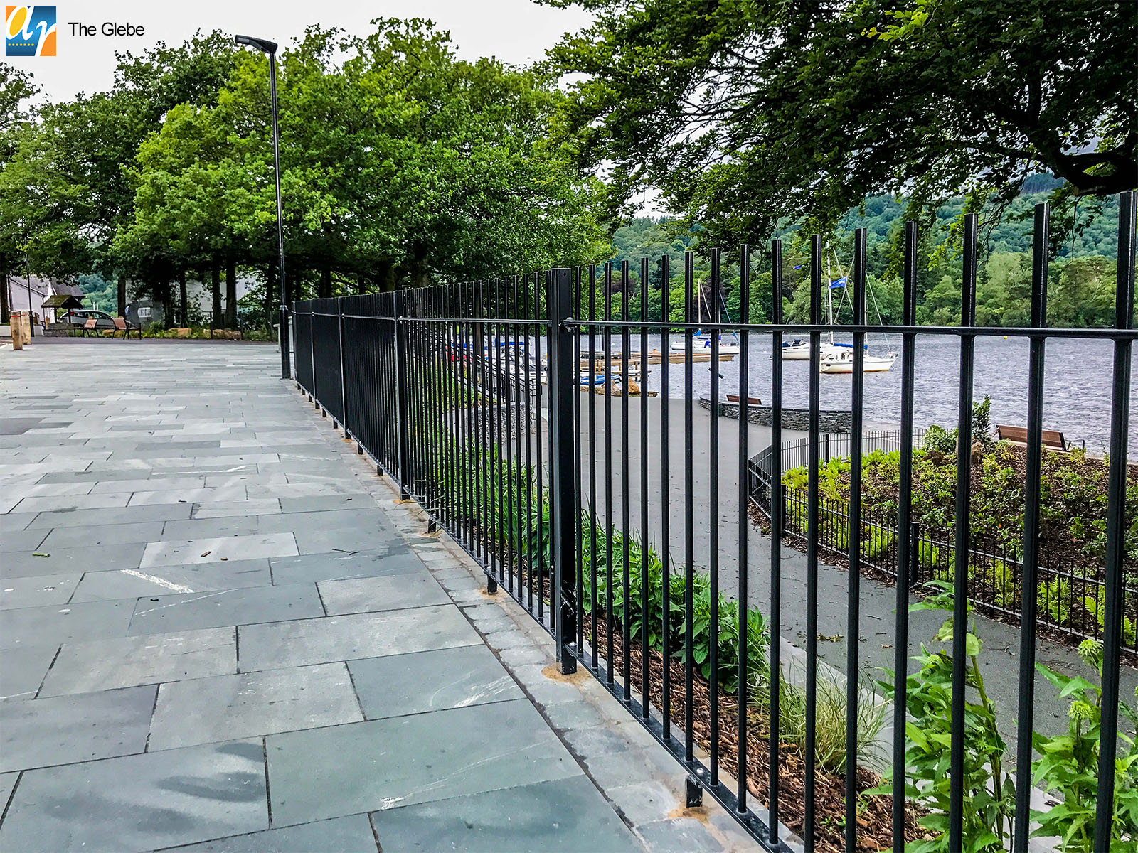 Standard Vertical Bar railings, The Glebe